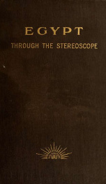 Egypt Through the Stereoscope_cover