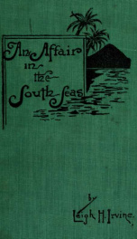 An affair in the South Seas : a story of romantic adventure_cover