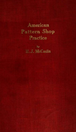 American pattern shop practice_cover