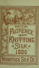 How to use Florence knitting silk .._cover