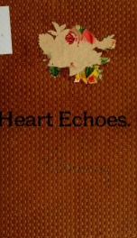 Heart echoes, from the shadowy land of the blind. A collection of brief poems_cover