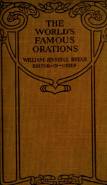 The world's famous orations_cover