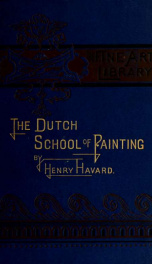 The Dutch school of painting;_cover