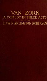 Van Zorn; a comedy in three acts_cover