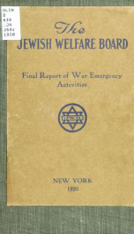 Final report of war emergency activities_cover