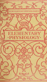 Elementary anatomy, physiology and hygiene for higher grammar grades_cover