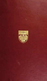 ... Publications of the members of the university, 1902-1916, comp. on the twenty-fifth anniversary of the foundation of the university by a Committee of the faculty_cover