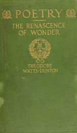 Poetry and The renascence of wonder_cover