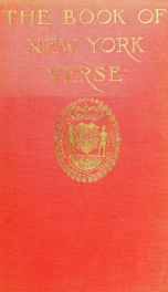 The book of New York verse_cover