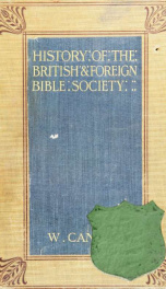A history of the British and Foreign Bible Society_cover