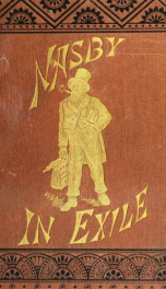 Nasby in exile_cover