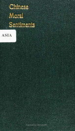Chinese moral sentiments before Confucius; a study in the origin of ethical valuations .._cover