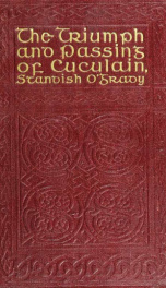 The triumph and passing of Cuculain_cover