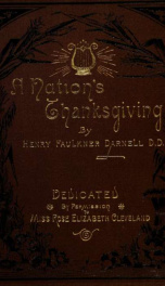 A nation's thanksgiving : a psalm of praise_cover