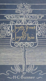 Jersey street and Jersey lane; urban and suburban sketches_cover