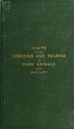 Hints on the breeding and rearing of farm animals_cover