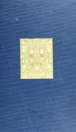Problems in animal metabolism : a course of lectures given in the physiological laboratory of the London University at South Kensington in the summer term, 1904_cover