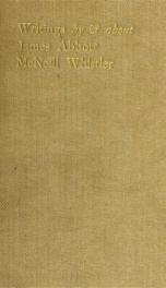 Writings by & about James Abbott McNeill Whistler; a bibliography_cover