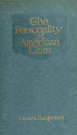 The personality of American cities_cover