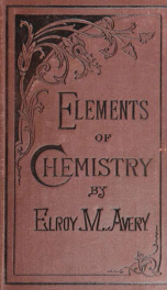 Elements of chemistry. A text-book for schools_cover