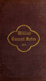 Willis's current notes 1851_cover