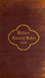 Willis's current notes 1856_cover