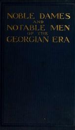 Noble dames and notable men of the Georgian era_cover