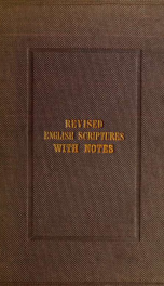 The Epistle to the Ephesians : translated from the Greek, on the basis of the common English version ; with notes_cover