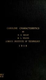 Gasoline characteristics_cover