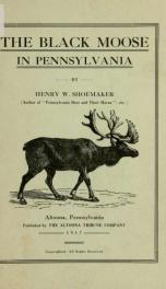 The black moose in Pennsylvania_cover