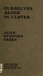 Ourselves alone in Ulster_cover