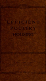 Efficient poultry housing_cover