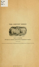 The Cheviot sheep_cover