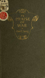In praise of war, military and sea verse_cover