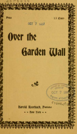 Over the garden wall .._cover