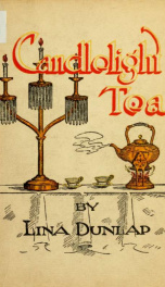 Candlelight tea; a book of recipes_cover