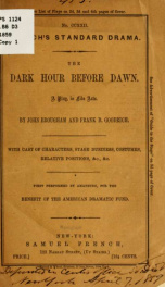 The dark hour before dawn_cover