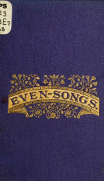Even-songs, and other poems_cover