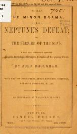 Neptune's defeat;_cover