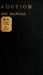 Auction, 1916 manual;_cover