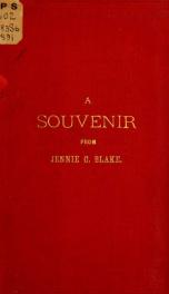 A souvenir from Jennie C. Blake_cover
