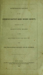 Report of the American Baptist Home Mission Society_cover