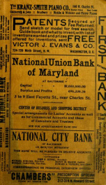 Baltimore city directory for the year commencing ... : containing an alphabetical list of business firms and private citizens, a directory of the city officers, terms of court, churches ... also a revised street directory, and a complete classified busine_cover
