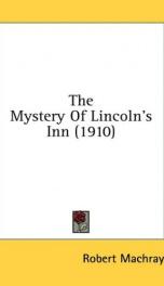 the mystery of lincolns inn_cover