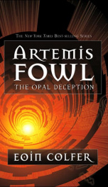 Artemis Fowl #4 The Opal Deception_cover