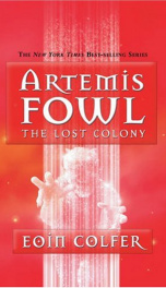 Artemis Fowl #5 The Lost Colony_cover