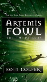 Artemis Fowl #6 The Time Paradox_cover