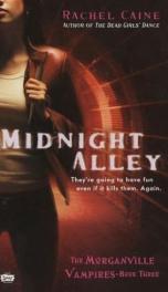 Midnight Alley- Morganville Vampires 3_cover