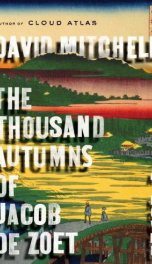 The Thousand Autumns of Jacob de Zoet_cover