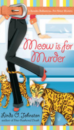 Meow is for murder_cover